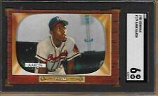 1955 Bowman #179 Hank Aaron / Braves / HOF / SGC EX-NM 6