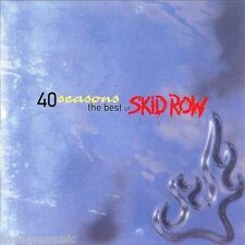 SKID ROW ( NEW SEALED CD ) 40 FORTY SEASONS / GREATEST HITS / VERY BEST OF