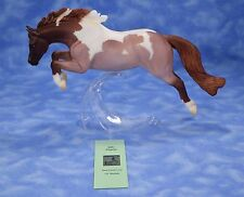 Breyer Persimmon Collector's Club Web Special Red Roan Pinto Hunter Pony
