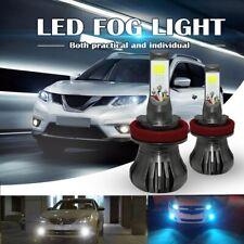 Dual Color 6000k White 8000K Blue H8/H9/H11 Car LED Fog Light for car truck suv