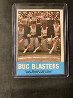 1963 TOPPS BASEBALL CARD #18 BUC BLASTERS w/CLEMENTE EXMT!!!!!!!!!