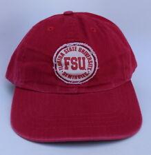 FSU SEMINOLES FLORIDA STATE UNIVERSITY Adjustable Strapback M/L Baseball Cap Hat