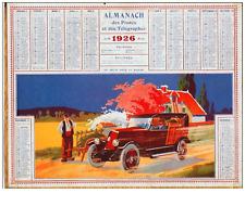 1926 - ALMANACH Des Postes et des Télégraphes de 1926 avec très belle illustrati