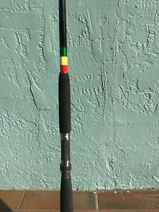 "FISHING ROD SPINNING 7 FT 20-40 LB - NEW - ""RASTA"""