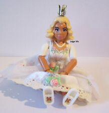 Lego Belville Figure Woman Femme Princess Mariée Jupe Couronne 5827 Royal Coach