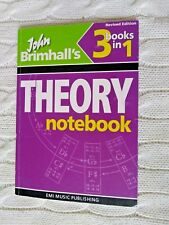 JOHN BRIMHALL'S THREE IN ONE THEORY NOTEBOOK – REVISED EDITION, LIKE NEW