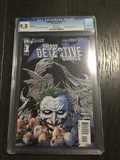 DETECTIVE COMICS # 1 5th Printing / The new 52! / CGC Universal 9.8 / April 2012