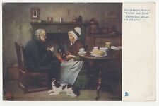 Darby & Joan, Illustrated Songs, Tuck 1152 Postcard, A716