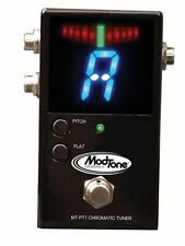 NEW MODTONE MT-PT1 Professional Chromatic  TUNER PEDAL FREE SHIPPING !