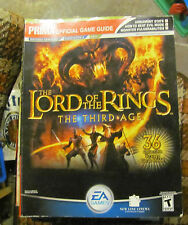 Prima's Lord of the Rings The Third Age guide WITH CARDS