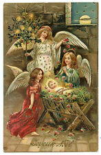 ANGES L'ENFANT JéSUS. NOËL   ANGELS THE CHILD JESUS .CHRISTMAS