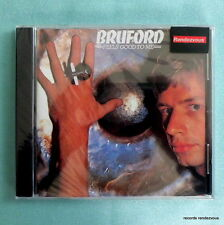 Bill Bruford Feels Good To Me US EG CD NEW King Crimson Genesis Yes Gordian Knot