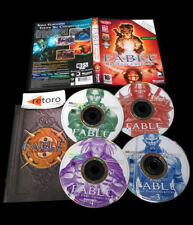 FABLE THE LOST CHAPTERS PC CD-ROM Pal-España Completo Castellano 4cd