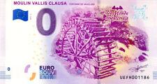 84 FONTAINE-DE-VAUCLUSE Moulin Vallis Clausa 2, 2018, Billet 0 € Souvenir