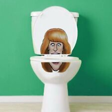 Kathy Griffin Toilet Lid Decal / Sticker set by BowlFacedLiar.com