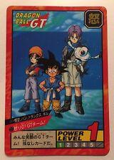 Dragon Ball GT Power Level Super Battle Part 17 Double Prism Unpeeled Card #737