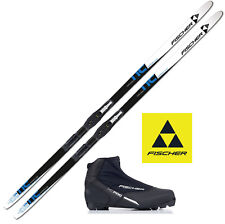 Fischer LanglaufSkiset Comfort Cruiser Ski XL=189cm + Bindung + Schuhe + Montage