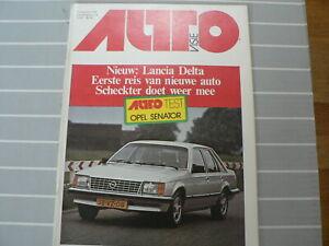 AUTOVISIE 1978 NR 16 TEST OPEL SENATOR CD,LANCIA DELTA,ANDRETTI F1,VILLENEUVE