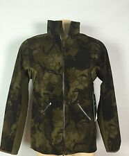 Lululemon Surge Fast Forward Shell Size L Mission Military Map Clove NWT