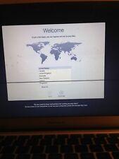 """Apple MacBook Air 13.3"""" 2 Go RAM 128 Go SSD utilisé a besoin de nouveaux écran"""