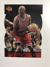 1998 98 Upper Deck MJX Michael Jordan MJ Timepieces #102 #'d of 2300 Bulls HOF