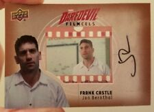 JON BERNTHAL as FRANK CASTLE Film Cell Auto Card Upper Deck DAREDEVIL