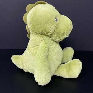"Carters Green Dinosaur Plush Stuffed Animal 10""  Baby Lovey 67696 FAST SHIP"