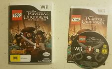 LEGO Pirates of the Caribbean - Pal - Nintendo Wii - GC - Fast Free Post!
