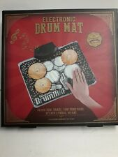 Electronic Drum Mat-NEW! Takes 3 AAA Batteries (Not Included)