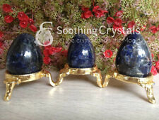 1 Pc Sodalite Egg Gemstone Eggs Healing Massager Egg Crystals Sodalite