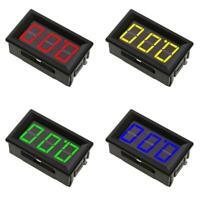 0.56in Mini DC 0- 100V 3-Wire Voltmeter LED Display Digital Panel Meter Tester