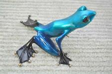 Crystal by Frogman Tim Cotterill Bronze Frog