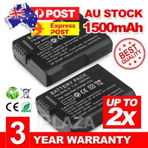 2X Capacity EN-EL14a Battery For Nikon D3400 D5600 D5500 D5300 D5200 D3300 D3200