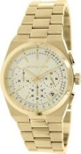 Michael Kors Women's MK5926 Channing Gold-Tone Chronograph Champagne Dial Watch