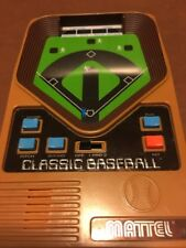 VTG  Mattel Classic Baseball Tabletop Electronic Hand held LED Video Game