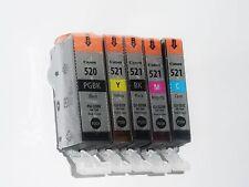 Repostería original Canon PIXMA pgi-520 cli-521c, m, y, BK multi pack