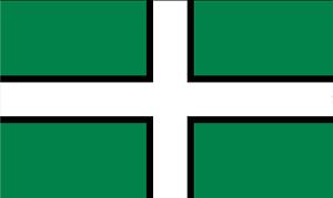 5ft x 3ft Flag of Devon Flag  Large WP Online