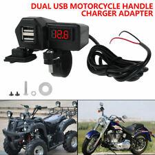 12 V Motorrad Zigarettenanzünder USB Buchse wasserdicht Steckdose Lenker Adapter