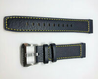 Original Citizen 22mm Promaster Skyhawk A-T Dark Blue / Yellow Watch Band Strap