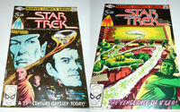 Star Trek Comics #1 & #2   VF - NM  First Issue Shatner Motion Pict. Marvel 1980