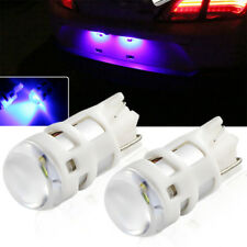 Extreme Bight Ultra Blue 168 194 2825 3535-SMD LED Bulbs For License Plate Light