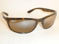 cfcc9195aeeac Ray-Ban Rectangle Polarized Brown Mirror Chromance Sunglasses - Rb4265  710 a2 62