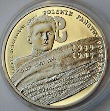 Poland 10 Zlotych, 2009, Polish Underground State and Home Army, Silver