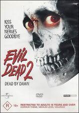 EVIL DEAD 2 II Dead By Dawn (Bruce CAMPBELL Sarah BERRY Dan HICKS) HORROR DVD
