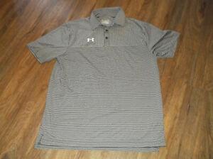 Mens UNDER ARMOUR Heat Gear Loose Polo Shirt Sz Medium M