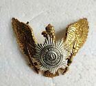 German Pickelhaube Brass Prussia Wappen Badge Prussian Helmet Free Shipping