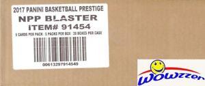 2017/18 Panini Prestige Basketball EXCLUSIVE Factory Sealed 20 Box Blaster CASE