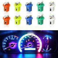10x T5 B8.5D 5050 SMD Car LED Dashboard Dash Gauge Instrument Light Bulbs 12V NE