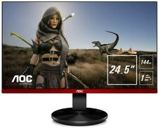 AOC 24.5-Inch Full HD  TN/WLED Gaming Monitor 1920 x 1080 - Black/Red - G2590FX
