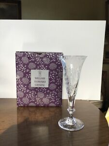 William Yeoward Fern Champagne Flute New w/Box. Ten Flutes Available.